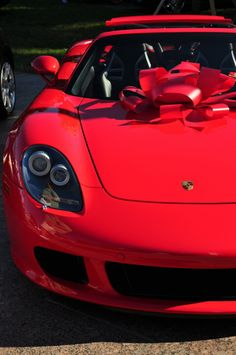 Porsche.  Oh thank you for the gift honey....you shouldn't have... =)
