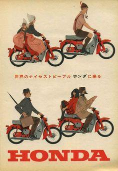 Honda Cub, 60er Jahre