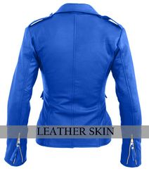 Ladies Bella Navy Blue Carla Leather Jacket | Products, Lady and ...