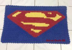 Tapete Croche Superman