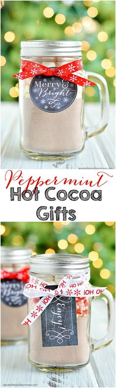 Peppermint Hot Cocoa Gifts