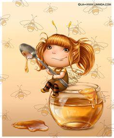 Honey fairy by LiaSelina on deviantART
