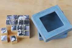 Fathers Day Photo Puzzle Gift | 4 different photos on each side of the blocks | eHow