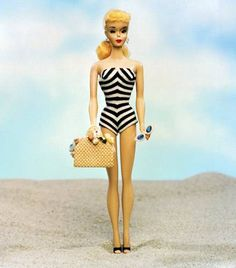 First Barbie, The first Barbie released, 1959.