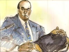 The lost art of courtroom sketch artists.