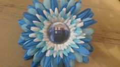 Dr who flower clip