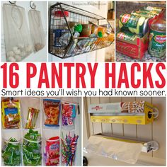 Use over the door racks and shoe organizers in your pantry to maximize small spaces. Pantry organization hacks that will change your life! Organisation Hacks, Organizing Hacks, Organizing Your Home, Diy Organization, Kitchen Organization Pantry, Pantry Storage, Kitchen Pantry, Pantry Ideas, Kitchen Ideas