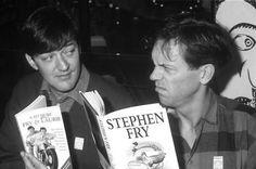 Stephen Fry & Hugh Laurie. BFFLs.