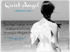 RELEASE EVENT & NECKLACE GIVEAWAY: Quiet Angel by Prescott Lane - iScream Books