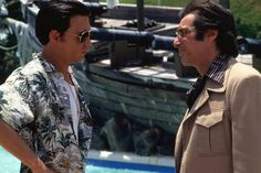DONNIE BRASCO, from left: Johnny Depp, Al Pacino, 1997, (c) TriStar