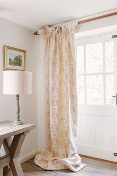 We offer a fully bespoke interior design and make up service in house on handmade cushions, curtains, roman and roller blinds. French Curtains, Curtains With Blinds, Bedroom Decor For Women, Bedroom Ideas, Cottage Curtains, Hallway Designs, Sr1, Pretty Bedroom, Woman Bedroom