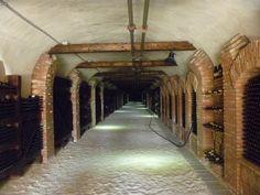 7-km deep wine tunnel, Kakheti.