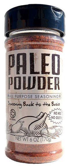 certified paleo paleo powder seasonings #certifiedpaleo #paleo