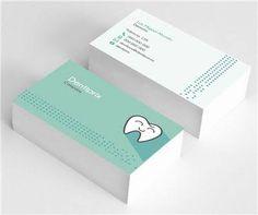 Resultado de imagen para tarjetas presentación dentistas