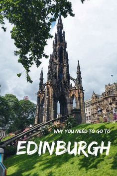 Edinburgh is one of those cities that pulls you in and stays in your heart forever. From stunning buildings to friendly locals, rugged landscape to intriguing local history and traditions - click to find out why Edinburgh should be on every traveller's bucket list. #UKtravel #Europe #Scotland #Architecture