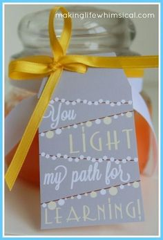 Light up her evening - Thoughtful Teacher Appreciation Day Ideas That Won\'t Break the Bank - Photos