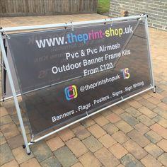 Mesh Banner kit www.theprint-shop.uk