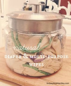 all-natural wipes recipe