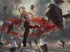 Vampire Envoy MtG Art by Johannes Voss
