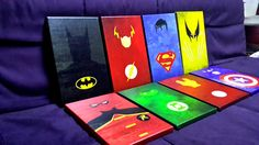 Superhero Canvas Print from Rakunsell by DaWanda.com