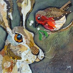 Hare & Robin (SOLD) | by dawndm