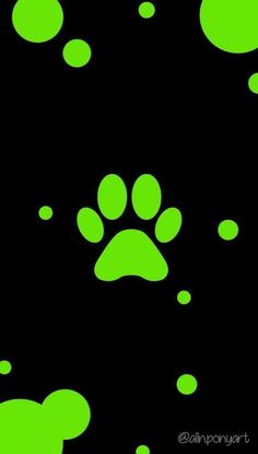 I didn't make this, however this is for those of you who want a paw print background for your phone.
