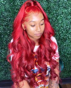 Weave Ponytail Hairstyles, Baddie Hairstyles, Burgundy Hairstyles, Frontal Hairstyles, Lace Front Wigs, Lace Wigs, Curly Hair Styles, Natural Hair Styles, Hair Laid