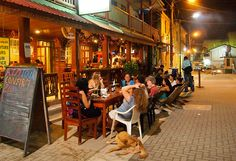 Nightlife in San Ignacio Caye Caulker, Belize Travel, How To Speak Spanish, Central America, Hotels And Resorts, Dream Life, Night Time, Mexico, Street View