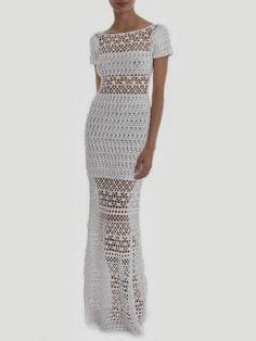 Pretta Crochet: Vestido de crochet Lily Sarti