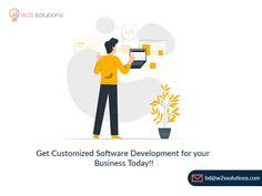 Looking to build a fully-reliable software to enhance your business to higher levels?  With our cutting-edge experience across the latest technologies, we're here to make your business visions come true at a cost-effective rate!  Regardless of being a startup or an enterprise, we can deal with every single requirement which is of any complexity and make it a reality at a considerable budget!  #SoftwareDevelopmentCompany #CustomSoftwareDevelopment #SoftwareSolutions #InnovativeTechnology Mobile App Development Companies, Mobile Application Development, Software Development, Data Analytics, Latest Technology, Budgeting, Digital, Business, Budget Organization
