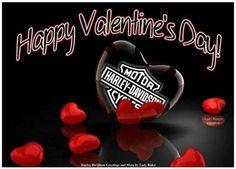 Harley Davidson Pictures, Harley Davidson Wallpaper, Image St Valentin, Victorian Halloween, Biker Quotes, Happy Day, Valentines Day, Make It Yourself, Crafts