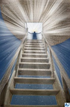 Stairway to Heaven picture, by sparklen for: wooden stairs photoshop contest Heaven Pictures, Jesus Pictures, Beautiful Pictures, Stairs To Heaven, Way To Heaven, Serenity Now, Photoshop Pics, Bride Of Christ, Prophetic Art