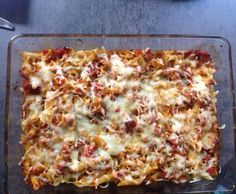Rezept WW Nudel-Paprika-Auflauf von Tinachen - Rezept der Kategorie Hauptgerichte mit Fleisch