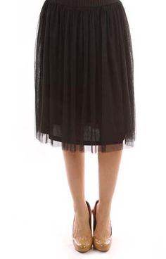 Tutu Tulle Black Skirt