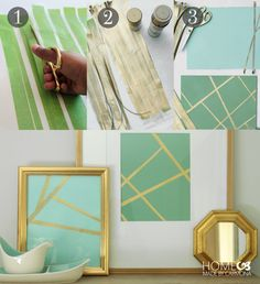 Very cool project! DIY art from tape. Who would have thought?