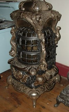 Parlor Stoves, Stoves From Museum Quality, History of stoves in America,