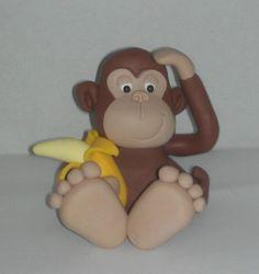 Cheeky monkey cake topper/keepsake  £15