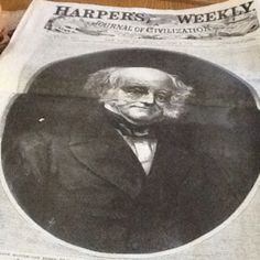 New York's Harper's Weekly reported on 8/9/1862 that former President Martin Van Buren had died.