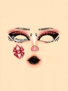 Soft Eye Makeup, Edgy Makeup, Eye Makeup Steps, Gothic Makeup, Eye Makeup Art, Fantasy Makeup, Makeup Inspo, Makeup Inspiration, Full Face Makeup