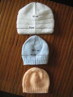 modele tricot gratuit bonnet naissance   tricot   Pinterest ... 416318ed920