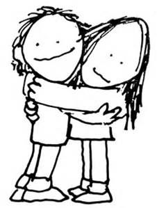 Best Friends Stick Figures Hugging - Bing images