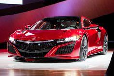 2016 Acura NSX / 2015 Detroit Auto Show