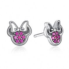 Minnie Mouse Earrings Sterling Silver for Sale in Richmond, VA - OfferUp Silver Charms, Silver Bracelets, Sterling Silver Earrings, Jewelry Bracelets, Silver Jewellery, Gold Fashion, Fashion Jewelry, Silver Jewelry Cleaner, Silver Rings Online