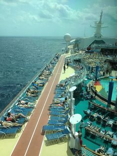 pool deck - navigator of the seas @Royal Caribbean International