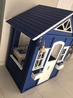 Wooden Outdoor Playhouse, Plastic Playhouse, Backyard Playhouse, Backyard Playground, Kids Outdoor Play, Kids Play Area, Backyard For Kids, Kids Room, Kids Cubby Houses
