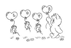 """Love""... and I <3 the floating mice!"