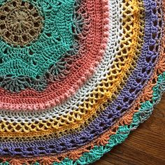 Pin By Pam S Pride Embroidery And Crochet On Mandala