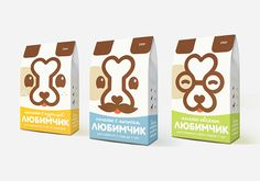 Сookies for dogs. Package design.