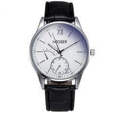 ブランド腕時計男性ファッションローマ数字クォーツ腕時計メンズスポーツ時計高級ブランドミリタリー腕時計レロジオmasculino