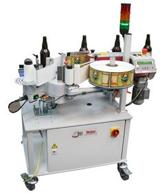 Geset 121 wrap-around labeling system  - Perfect for craft beer labeling